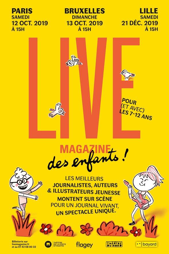 """""""Le Live magazine des enfants"""", pour (et avec) les 7-12 ans"""