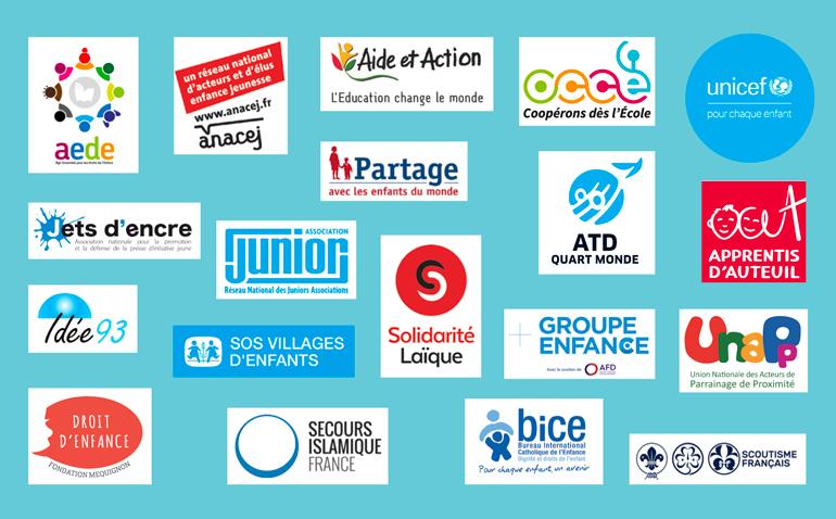 Ces associations se mobilisent à l'occasion des 30 ans des droits de l'enfant pour leur promotion et leur défense, en France et dans le monde.